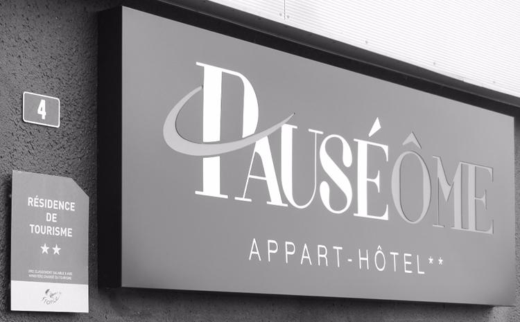 Pauséôme apparthotel à Caen