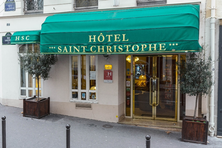 Saint christophe à Paris