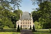 Le château de bénéauville à Bavent