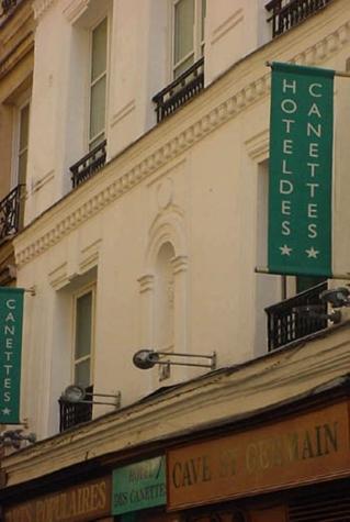 Hotel des canettes à Paris