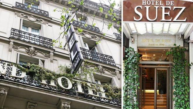 Hôtel de Suez à Paris