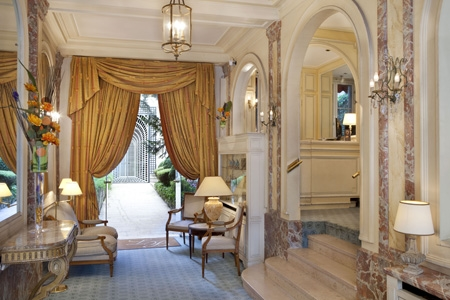Hotel residence lord byron à Paris