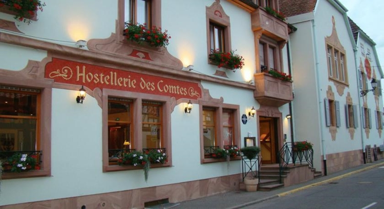 L'Hostellerie des comtes à Eguisheim