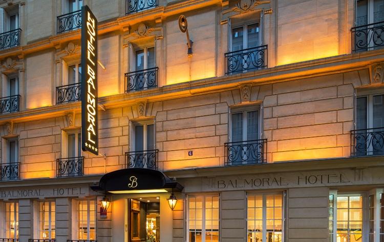 Hôtel balmoral à Paris