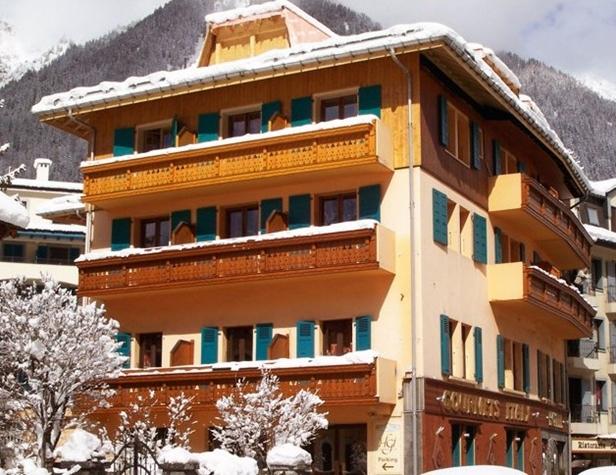 Hôtel gourmets & italy à Chamonix-mont-blanc