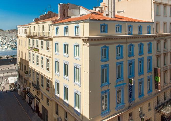 Hôtel carré vieux port à Marseille