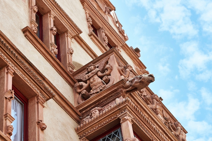 La maison des têtes à Colmar