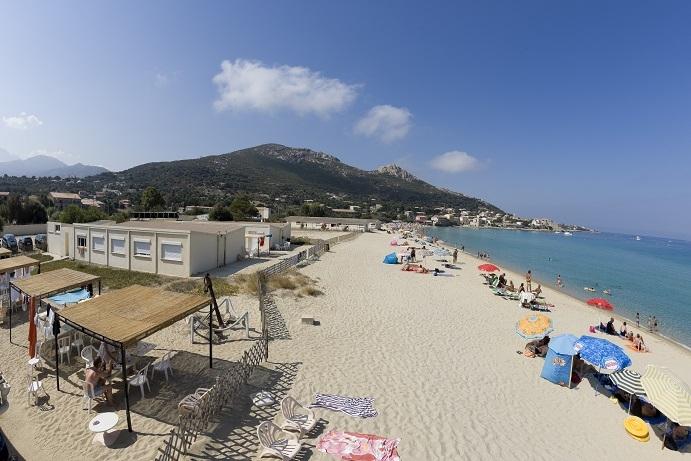 L'Escale plage à Algajola