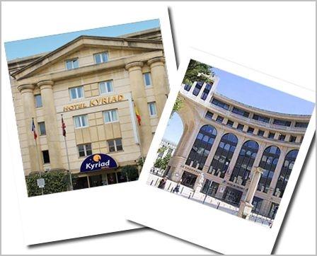 Hôtel kyriad montpellier centre antigone a Montpellier