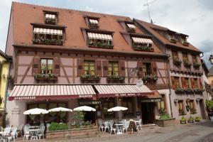Hôtel au lion à Ribeauvillé