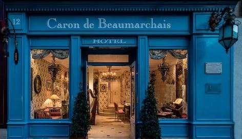 HÔTEL CARON DE BEAUMARCHAIS à Paris